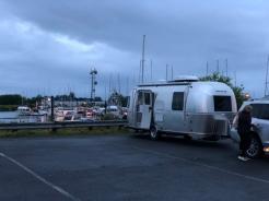 Camped on Sitka harbor