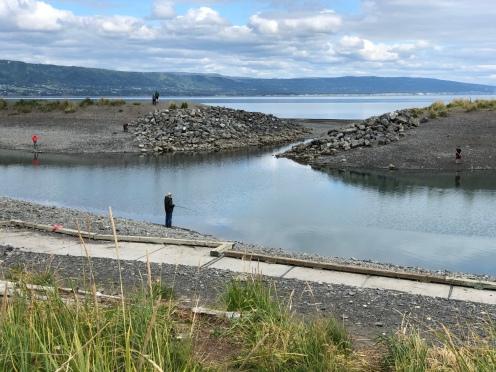 Inland fishing lagoon